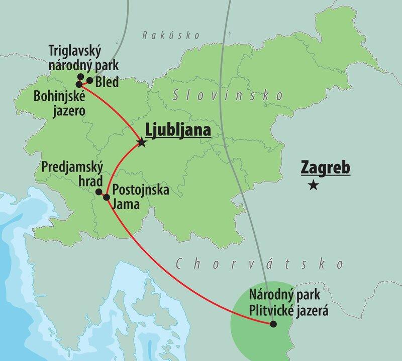 Slovinsko A Plitvicke Jazera Poznavacie Zajazdy Ck Turancar